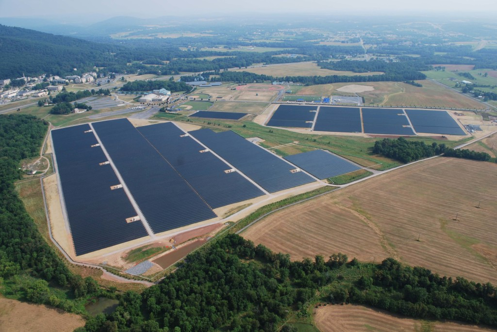 Maryland solar station